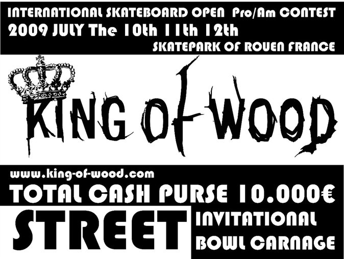 King_of_wood_2009_annonce