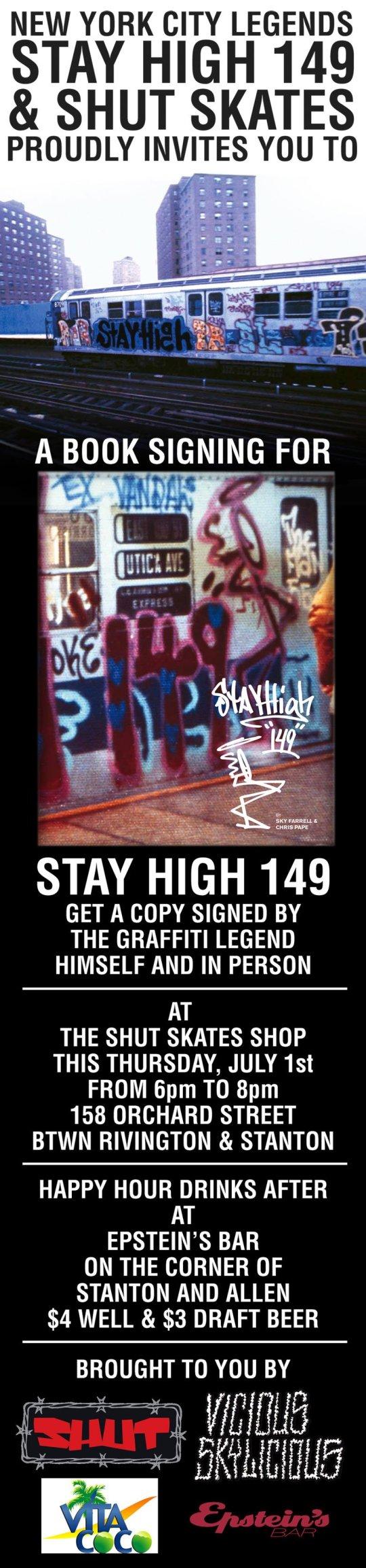 Stay High X Shut