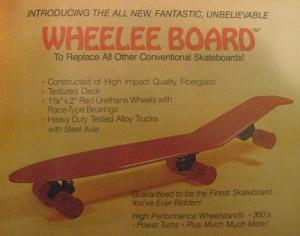 Wheelee-board