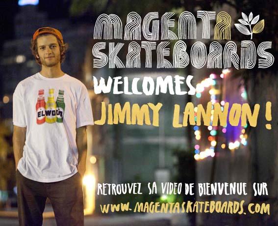 Jimmy lannon est chez Magenta small