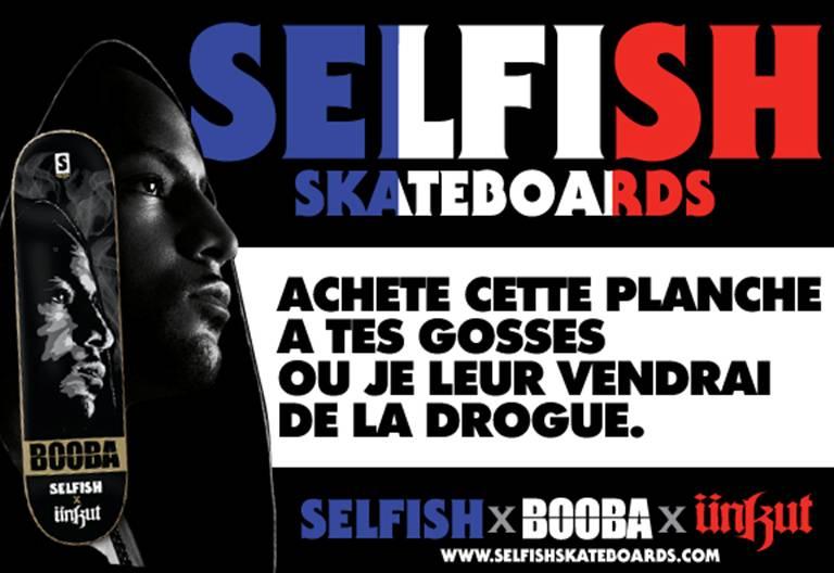 SELFISH X BOOBA X UNKUT PROMO ADS